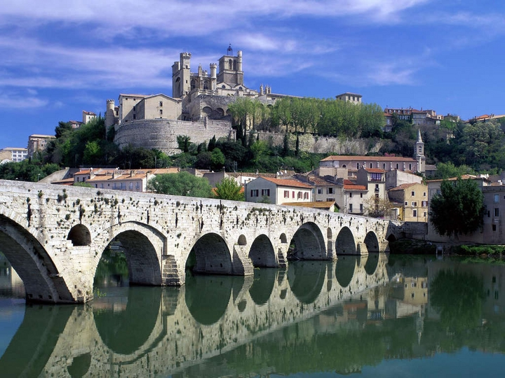 Old River Beziers France